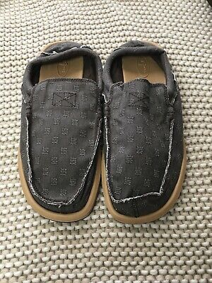 Men Sanuk Chiba Waffle Sidewalk Surfer Canvas Slip-on Loafer Shoe Brown 12 Nwt • 29.14£