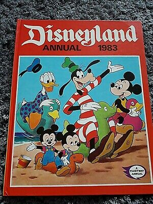 Disneyland Annual 1983 Fleetway Annual Unclipped Collectables • 3.75£
