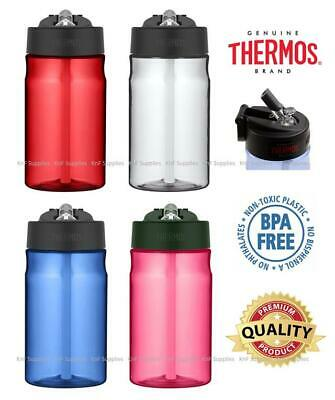 Thermos Water Drinks Hydration Sports Bottle With Straw 355ml BPA Free • 10.95£