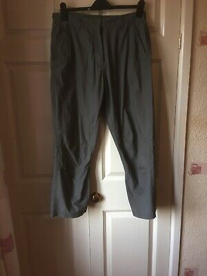 £5 • Buy Peter Storm Trousers Grey Ladies Size 14