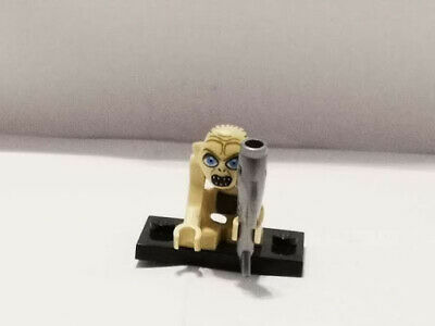 *RARE* LEGO LOTR Lord Of The Rings Minifigure: GOLLUM With Fish • 13.50£