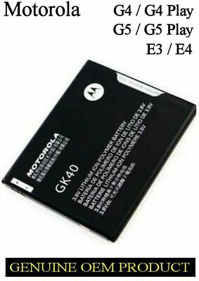 AU50.16 • Buy Battery Motorola Moto G4 Play E3 / E4 Moto G5 Gk40 Xt1607 Xt1609 Xt1700