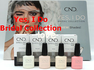 AU7.78 • Buy CND SHELLAC UV Gel Polish YES, I DO Bridal Collection GelColor /Choose Any