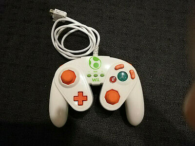 AU34.99 • Buy Yoshi Wired Controller For Nintendo Wii U, Fight Pad PDP