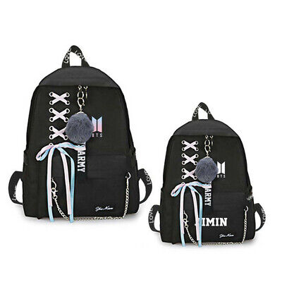 $23.40 • Buy BTS Bangtan Boys Backpack School Bookbag Student Travel Shoulder Bag
