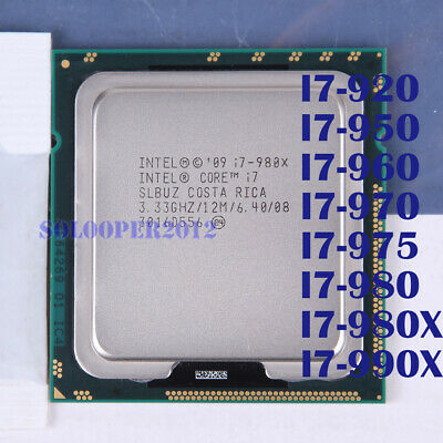 $ CDN45.80 • Buy Intel Core I7-950 I7-960 I7-970 I7-975 I7-980X I7-990X LGA 1366 CPU Processor
