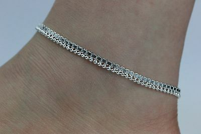 £4.99 • Buy Stunning Simple Ankle Chain Anklet Payal Indian Bollywood Anklets Single Or Pair