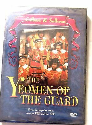 64825 DVD - The Yeomen Of The Guard [NEW & SEALED]  1982  AMP-5408 • 9.99£