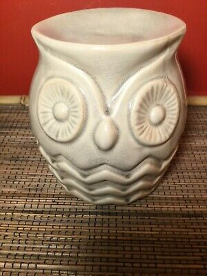Large Owl Oil Burner Ceramic Bird Wax Melts Perfume Aromatherapy Home Scent • 9.99£