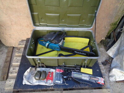 £420 • Buy MAKITA - DCS 5030 CHAIN SAW KIT - 49 Cc - VERY LITTLE USE FROM NEW