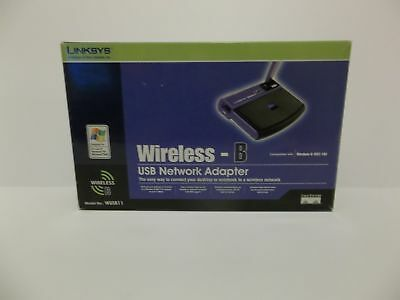 $19.99 • Buy Linksys WUSB11 Wireless-B USB Network Adapter V2 --New