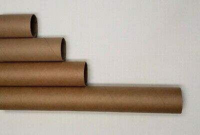 $35.99 • Buy Heavy-duty Round Mailing Tubes - 2X Stronger Many Sizes, White End Caps Included