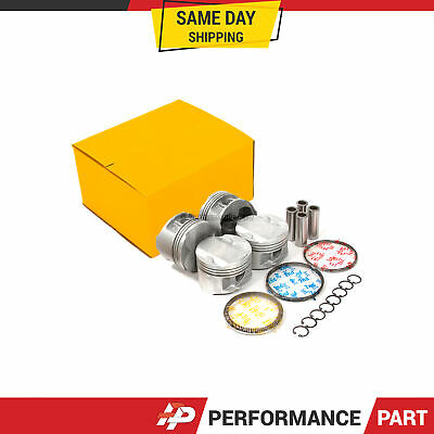 AU116.79 • Buy Pistons With Rings @STD Fit 00-06 Toyota Corolla Celica GTS Matrix 1.8L 2ZZGE