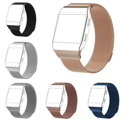 $ CDN6.33 • Buy For Fitbit Ionic Replacement S/L Metal Milanese Loop Band Watch Strap Bracelet