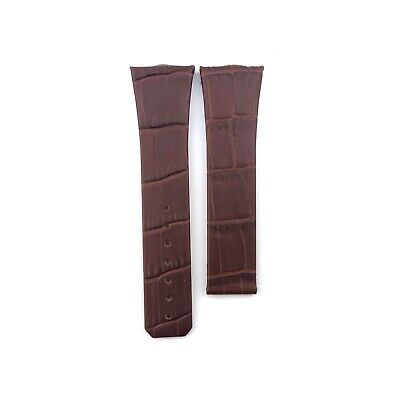 Brown 23mm Genuine Leather Strap Band Fit Omega Constellation Watches+Pins/Tool • 27.50£