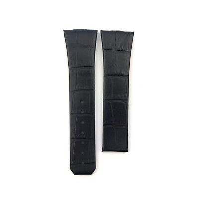 Black 23mm Genuine Leather Strap Band Fit Omega Constellation Watches+Pins/Tool • 27.50£