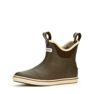 XTRATUF Men's 6  Ankle Deck Boot-Fishing Boating Brown Pick Size - Free Ship • 65.54£