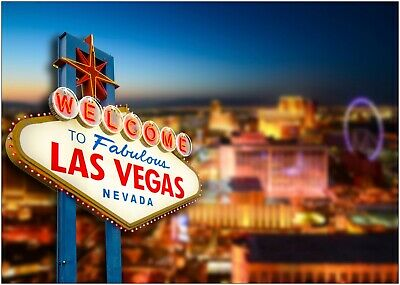 £5.90 • Buy Welcome To Las Vegas Sign Large Poster Art Print A0 A1 A2 A3 A4 Maxi