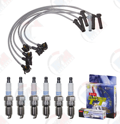 $64.95 • Buy DENSO Ignition Wire Set & PLATINUM Spark Plugs For 2005-2006 Ford Mustang 4.0L