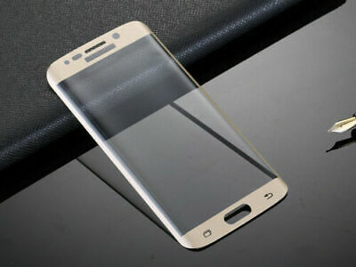 $ CDN5.18 • Buy For Samsung Galaxy S7 - 100% Genuine Tempered Glass LCD Screen Protector - GOLD