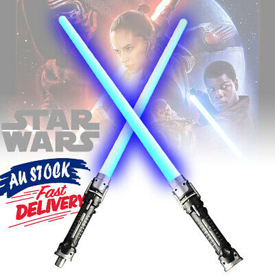AU18.49 • Buy Sabers Sword Toys Weapons Cos For Star Wars Lightsaber LED Flashing Double Light