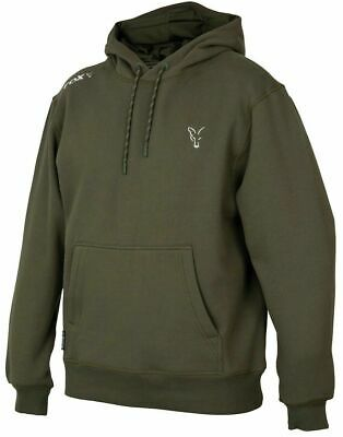 £34.98 • Buy Fox Collection Green Silver Hoody Hoodie *All Sizes* NEW Carp Fishing