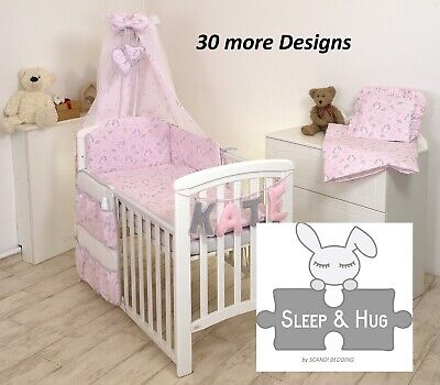 £54.99 • Buy UNICORN ON PINK BABY BEDDING SET COT Or COT BED Size+ 30 MORE DESIGNS