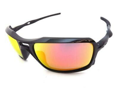 AU169 • Buy Oakley TRIGGERMAN Sunglasses Polished Black - Ruby Iridium Lenes 9266-03