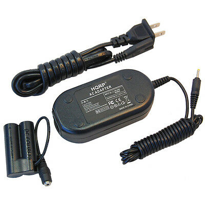 HQRP AC Power Adapter + DC Coupler For Canon PowerShot A1300 SX150 IS A800 A810 • 18.97£