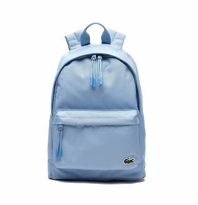 Lacoste NH2860NE Neocroc Small Canvas Backpack, Powder Blue 841 • 75£