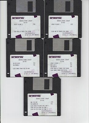 $25 • Buy Ensoniq Eps16+ Sound Library Sl-10  Eps  / Eps16+ / Asr 10/88 (5) Disk Set