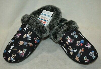 Skechers Bobs Women's Beach Bonfire Snuggle Up Black/Multi Slipper - Size 6 NWB • 21.70£