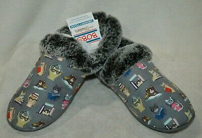 Skechers Bobs Women's Beach Bonfire Study Club Charcoal/Multi Slippers-Sz 7 NWB • 21.70£