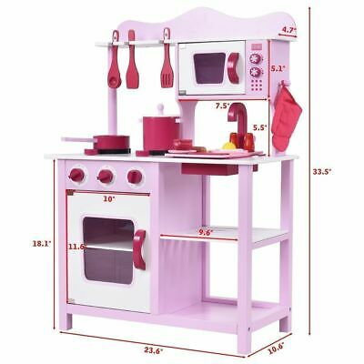 kids wooden kitchen