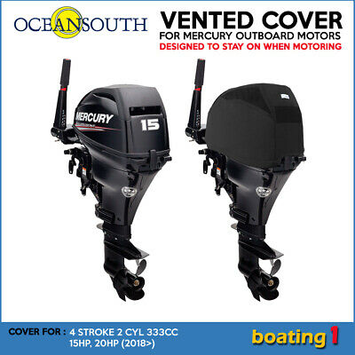 AU74.90 • Buy Mercury Outboard Motor Engine Vented Cover 4 STR 2 CYL 333CC 15HP, 20HP (2018>)