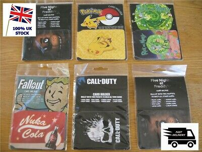 £1.90 • Buy  ID Card Holder Travel Pass / Oyster - Various POKEMON Call Of Duty FALLOUT