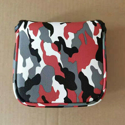 £9.83 • Buy 1x Camo Square Mallet Putter Cover Golf Headcover For Taylormade Spider Tour