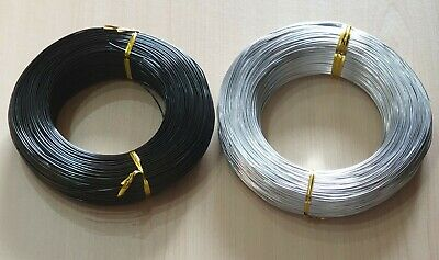 £1.59 • Buy Jewellery Craft Wire Aluminium 1mm 0.8mm Silver And Black Crafts Arts Beading