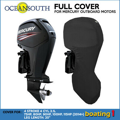 AU117.90 • Buy Outboard Motor Engine Full Cover For 4 STR 4 CYL 2.1L 75-115HP (2014>) - 20