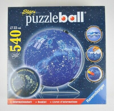 Ravensburger Star Line Celestial Map Puzzle Ball 540 Pc Glows In The Dark 3D NEW • 59.99$