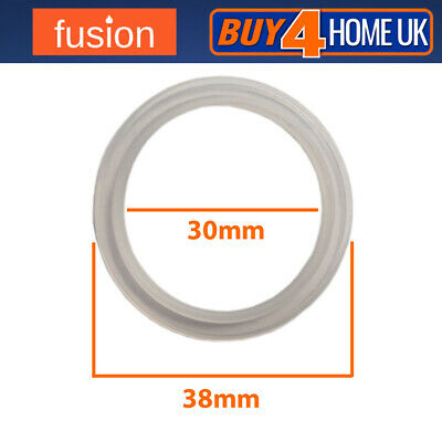 Clear Rubber Pop Up Basin Waste Seal 38mm - Basin Plug O-Ring • 2.45£