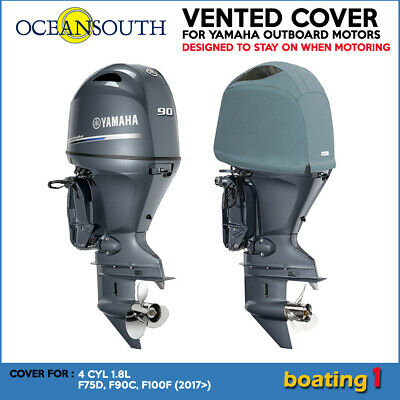 AU131.40 • Buy Yamaha Outboard Motor Engine Vented Cowling Cover 4 CYL 1.8L F75D, F90C, F100F