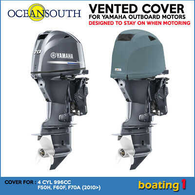 AU111.40 • Buy Yamaha Outboard Motor Engine Vented Cowling Cover 4 CYL 996CC F50H, F60F, F70A