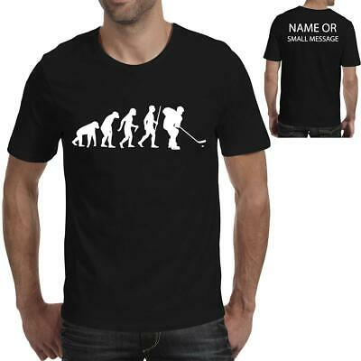 Evolution Of  Ice Hockey Winter Sports Funny Printed T Shirt • 11.95£