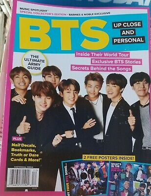 $16.77 • Buy Bts Special  Collector's Edition Magazine  2 Free Posters No Mailing Labels