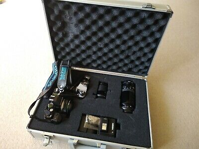 *REDUCED* 35mm Cameras & Case, Old School Professional Photography Set • 199£