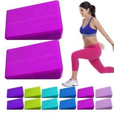 Yoga Triangle Block New Yoga Pilates Workout Trainer Exercise Head Support Block • 5.99£