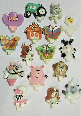 AU2.95 • Buy Cute Kids Birthday Candle - Great Designs - Dogs, Butterfly, Horse, Farm Animals