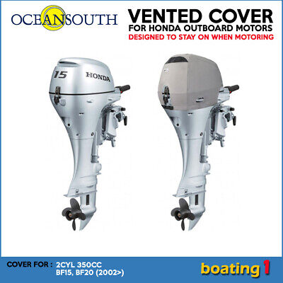 AU84 • Buy Outboard Motor Vented/Cowling Cover For Honda 2CYL 350CC BF15, BF20 (2002>)