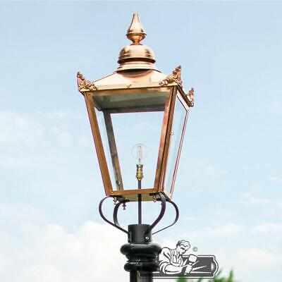 £319.99 • Buy 87cm Copper Victorian Traditional Extra Large Lamp Post Top Lantern Replacement